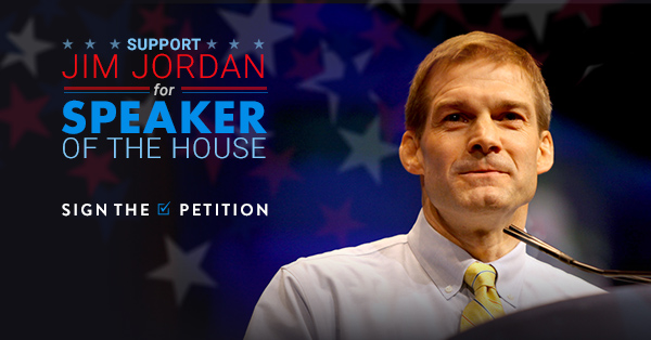 Support Jim Jordan for Speaker of the House