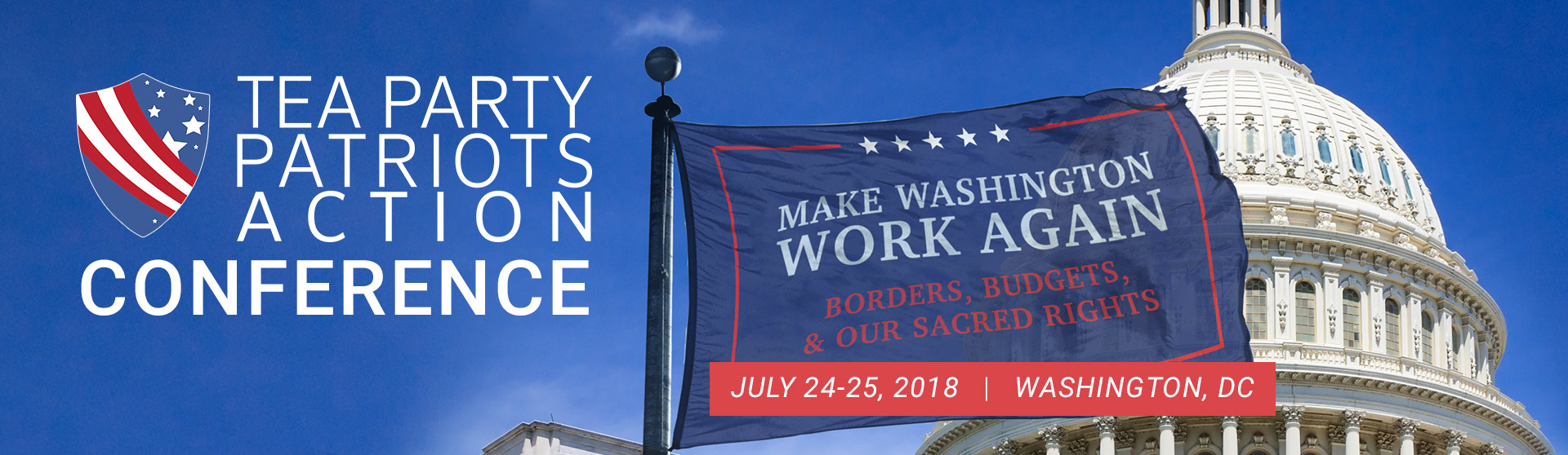 Make Washington Work Again: Borders, Budgets, and our Sacred Rights