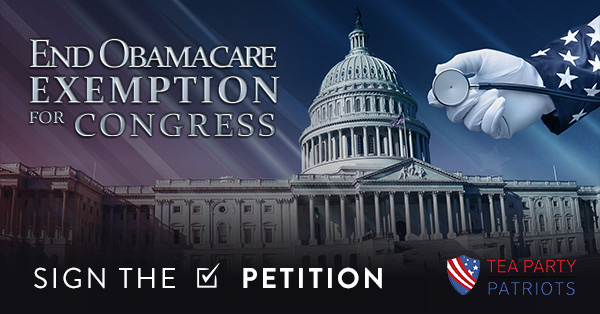 End ObamaCare Exemption for Congress