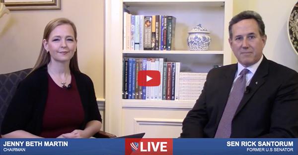 Interview with Rick Santorum